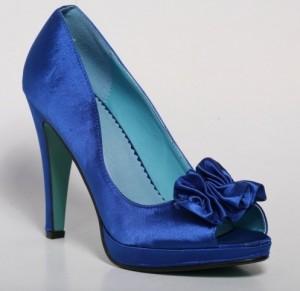 Pantofi albastri Viviana