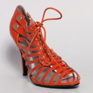Sandale portocalii Eliza
