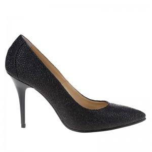 Pantofi stiletto din piele naturala Olala