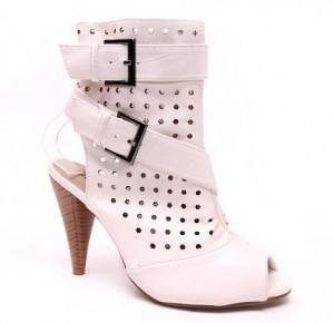 Sandale albe Sanda