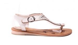 Sandale albe Belissima