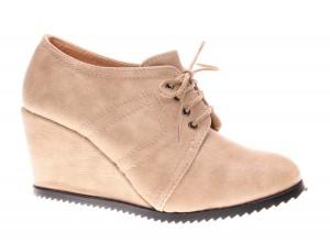 Pantofi de dama beige Delfina