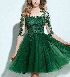 Cele mai elegante rochii de nuanta verde pe care sa le ai in garderoba ta